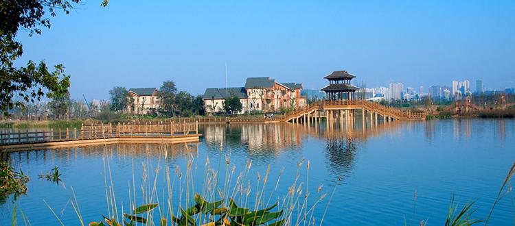 长沙洋湖湿地公园