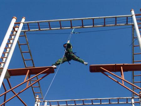 拓展项目:高空断桥