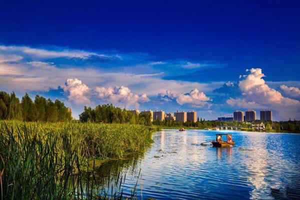 长沙洋湖垸湿地公园
